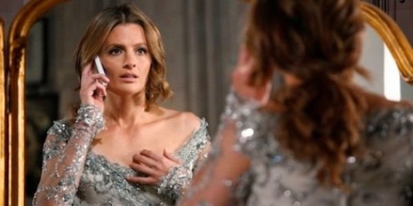 "CASTLE - ""Dressed To Kill"" - When the assistant to Modern Fashion Magazine's dictatorial editor Matilda King (guest star Franes fisher) is found murdered, Castle and Beckett are thrust into the glitzy, ruthless world of high fashion in their search for the killer. Meanwhile Beckett's history in the modelling world gets her access to a very special wedding surprise, on ""Castle,"" MONDAY, JANUARY 27 (10:01-11:00 p.m., ET) on the ABC Television Network. (ABC/Richard Cartwright) STANA KATIC"